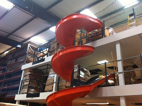 Mezzanine 2-tier with Chute