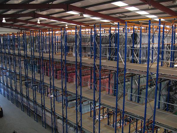 Multi-tier Rack System